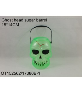 HALLOWEEN - SKULL CANDY BARREL