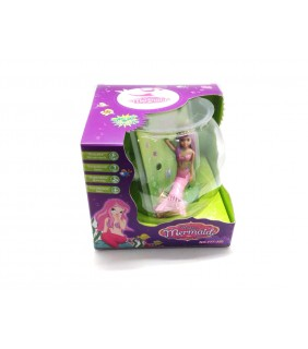 Battery Operated Mermaid with Tank