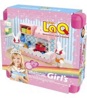 Laq Imaginal Girl's (630 Pieces+1pc)