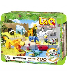 Laq Imaginal Zoo (1,320 Pieces+10 Pieces)