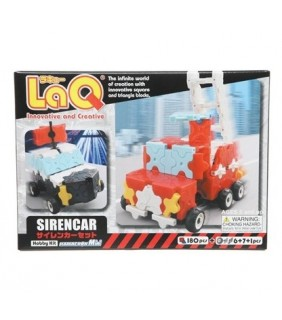 180pcs + 14 Hamacron Parts Siren Car
